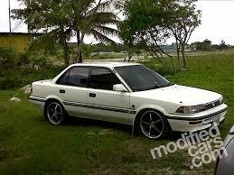 modified toyota 1991 toyota corolla information and photos zombiedrive