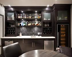 Glass Bar Cabinet Designs Sofa Fascinating Modern Bar Cabinets Basement Designs Ideas