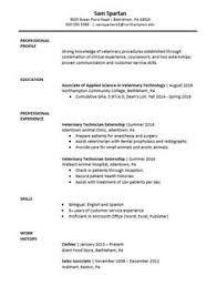vet tech cover letter vet tech stuff pinterest tech