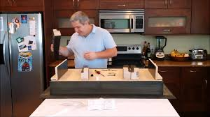 coffee table type 1 secret compartment assembly video youtube