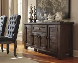 solid wood pine dining room server by signature design by ashley