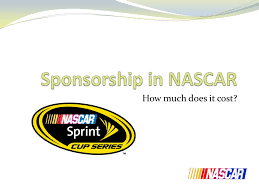 how much does it cost sponsorship in nascar how much does it cost ppt