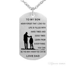 personalized dog tag necklaces wholesale to my dog tag necklace never forget i you