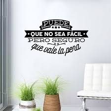 online buy wholesale wall decal quotes for living room from china decorative viny wall stickers spanish famous quote inspiring phrase wall decals sticker home decor for living