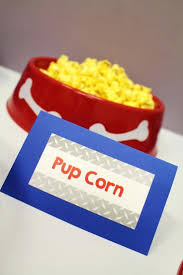 toy story party favors pup corn paw patrol birthday party ideas