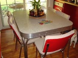 Charming S Kitchen Table Also Retro Ss Vintage Of Images - Kitchen table retro
