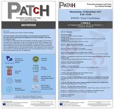 p a t c h prevention analysis and tools for cultural heritage