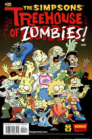 the simpsons halloween of horror bart simpson u0027s treehouse of horror 020 2014 view comic
