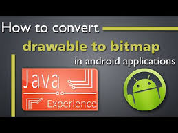android bitmap how to convert drawable to bitmap and vice versa in android