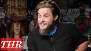 travis fimmel hair for vikings travis fimmel on the success of vikings thr cover lounge youtube