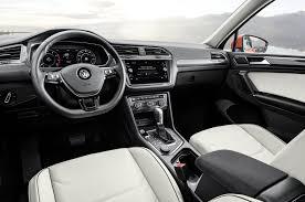 volkswagen tiguan 2015 interior volkswagen unveils long wheelbase 2018 tiguan in detroit