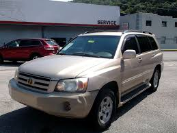 pre owned 2004 toyota highlander base w o 3rd row suv in