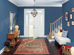 Navy Blue Living Room Home Design Ideas - Living room home design