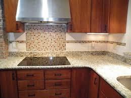 glass mosaic tile backsplash design modern kitchen
