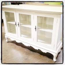 sideboard buffet with three glass doors nadeau dallas intended for