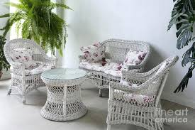 white wicker furniture u2013 lesbrand co