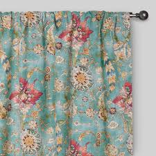 Blue And Yellow Curtains Prints Solid Colored Curtains And Drapes World Market