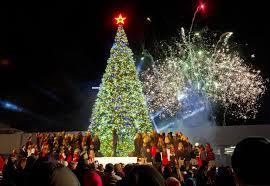 Singing Christmas Tree Lights Christmas Events 2017 Tree Lightings In Metro Atlanta