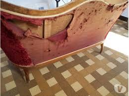 restaurer canapé canapé rénover offres mai clasf