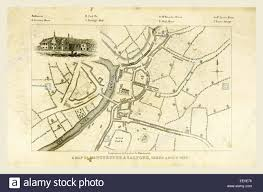Ord Map Map Mancuniensis Or An History Of The Town Of Manchester And