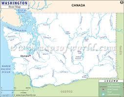 map of washington washington rivers map rivers in washington