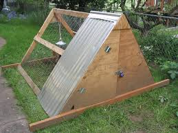 Backyard Chicken Coop Designs by Build An A Frame Chicken Coop Chicken Coop How To Chicken Cops