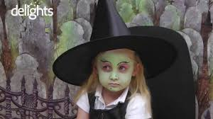 witch face paint children u0027s halloween witch tutorial youtube