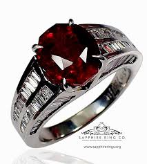 natural wedding rings images Untreated natural ruby ring gia 5 11 ct platinum oval jpg