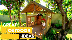 how to make your own jungle book inspired cubby house outdoor