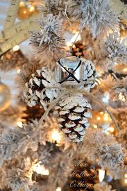 pine cone christmas tree ornaments fishwolfeboro