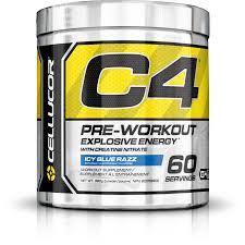 buy cellucor c4 extreme pre workout icy blue razz 60 servings