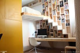 meuble bureau création d 039 un meuble bureau bibliothèque escalier veran emilie