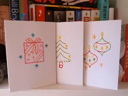 embroidered christmas embroidered christmas cards what does