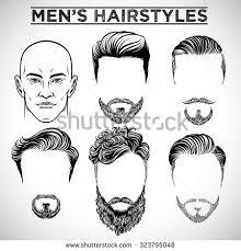 men hairstyles stock vector illustration 323795048 shutterstock