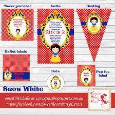 snow white party supplies lifes celebration