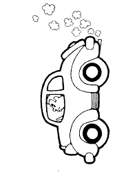 driving a car free coloring pages for kids printable colouring