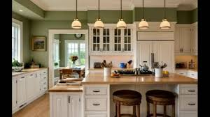 startling green kitchen paint colors