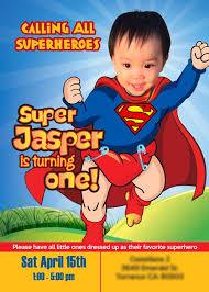 26 best 1st birthday invitation baby superheroes images on