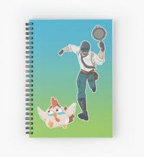 Chicken Running Meme - running chicken meme spiral notebooks redbubble
