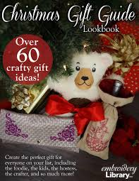 embroidery library christmas gift guide lookbook by embroidery