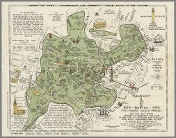 Map Of Massachusetts Cities by A 1928 Historical Map That Shows Shawmut Or Boston From 1630 1930