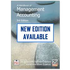 a handbook of management accounting 3rd edition pac cbpbook