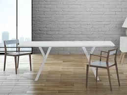 tavoli da design tavolo di design 180 cm tavolo da pranzo in legno bianco