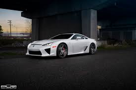 lexus lfa 2016 black lexus lfa looks odd with custom pur wheels