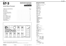 boss gt 3 service manual download schematics eeprom repair info