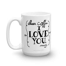 Coffee Mug Images I Love You Coffee Mug Steph Calvert Art