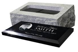 headstones and memorials cremation memorials atchison monuments granite