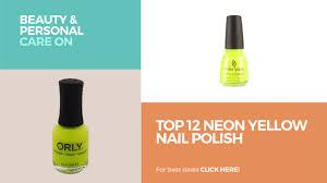 top 12 neon yellow nail polish beauty u0026 personal care on amazon
