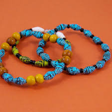make beads bracelet images Make shiny recycled paper beads friday fun craft projects aunt jpg