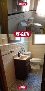 Small Bathroom Remodeling Pictures Before And After 104 Best Re Bath Before U0026 After Images On Pinterest Bathroom